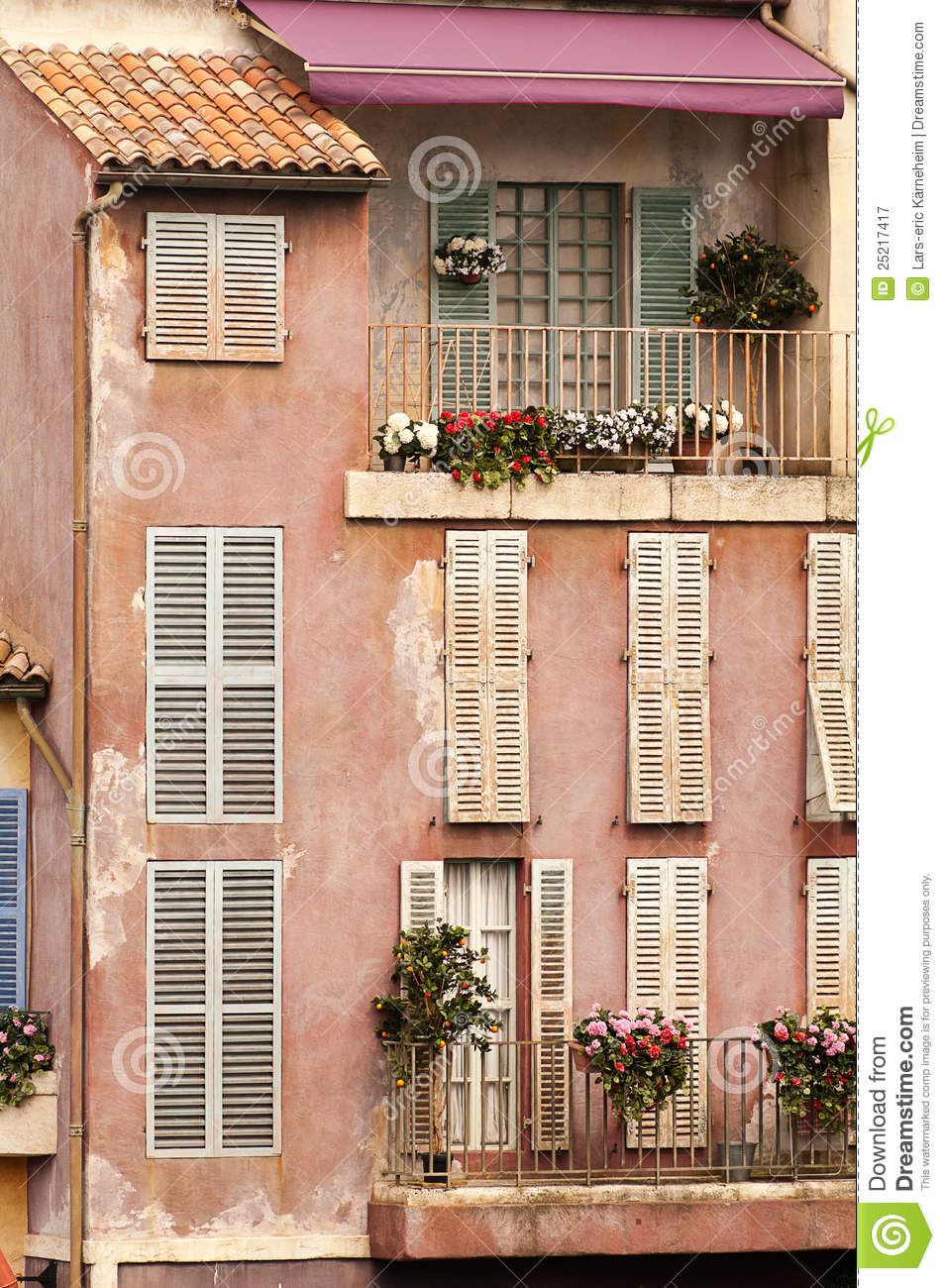 French balcony in paris stock image image of nobody for Balcony french