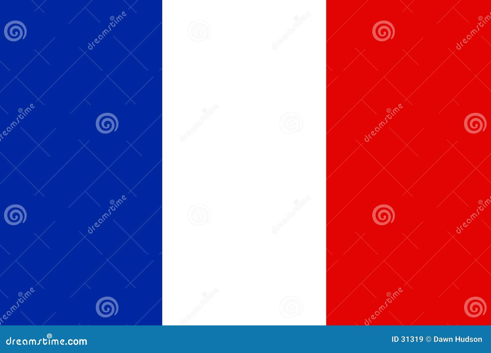 Download French bandery ilustracja wektor. Ilustracja złożonej z desirability - 31319