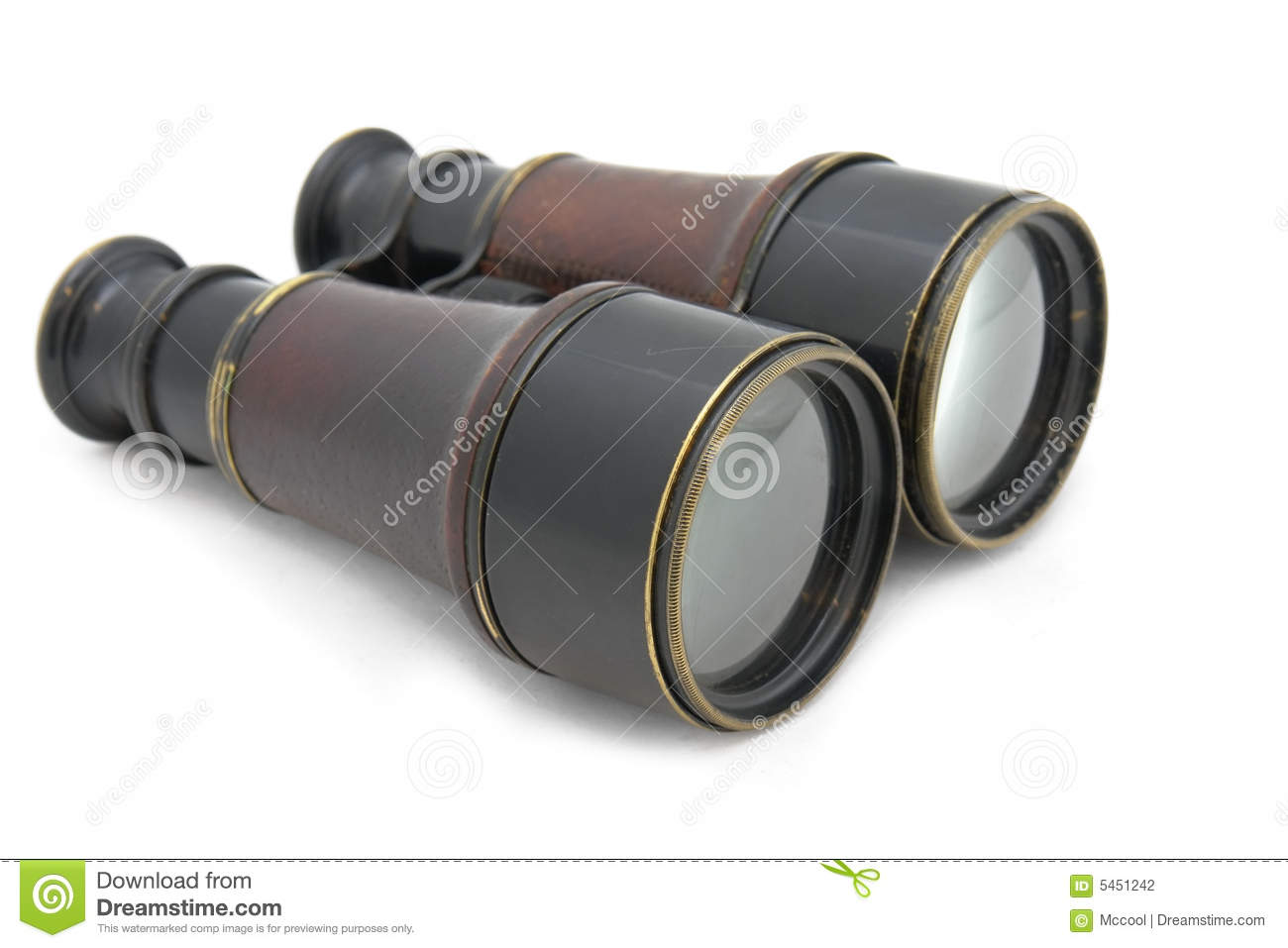 French binocular of 19 century
