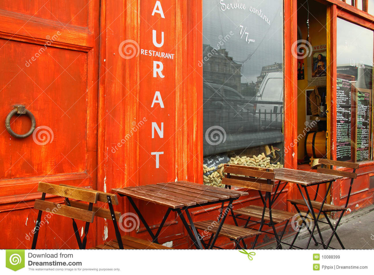 French bistro business plan