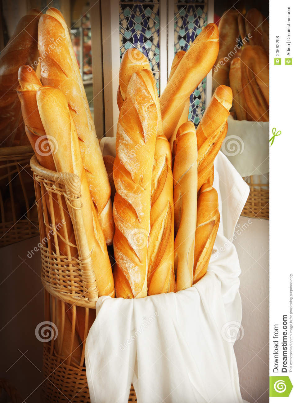 French Bread Stock Photo Image Of Bakery France Crisp