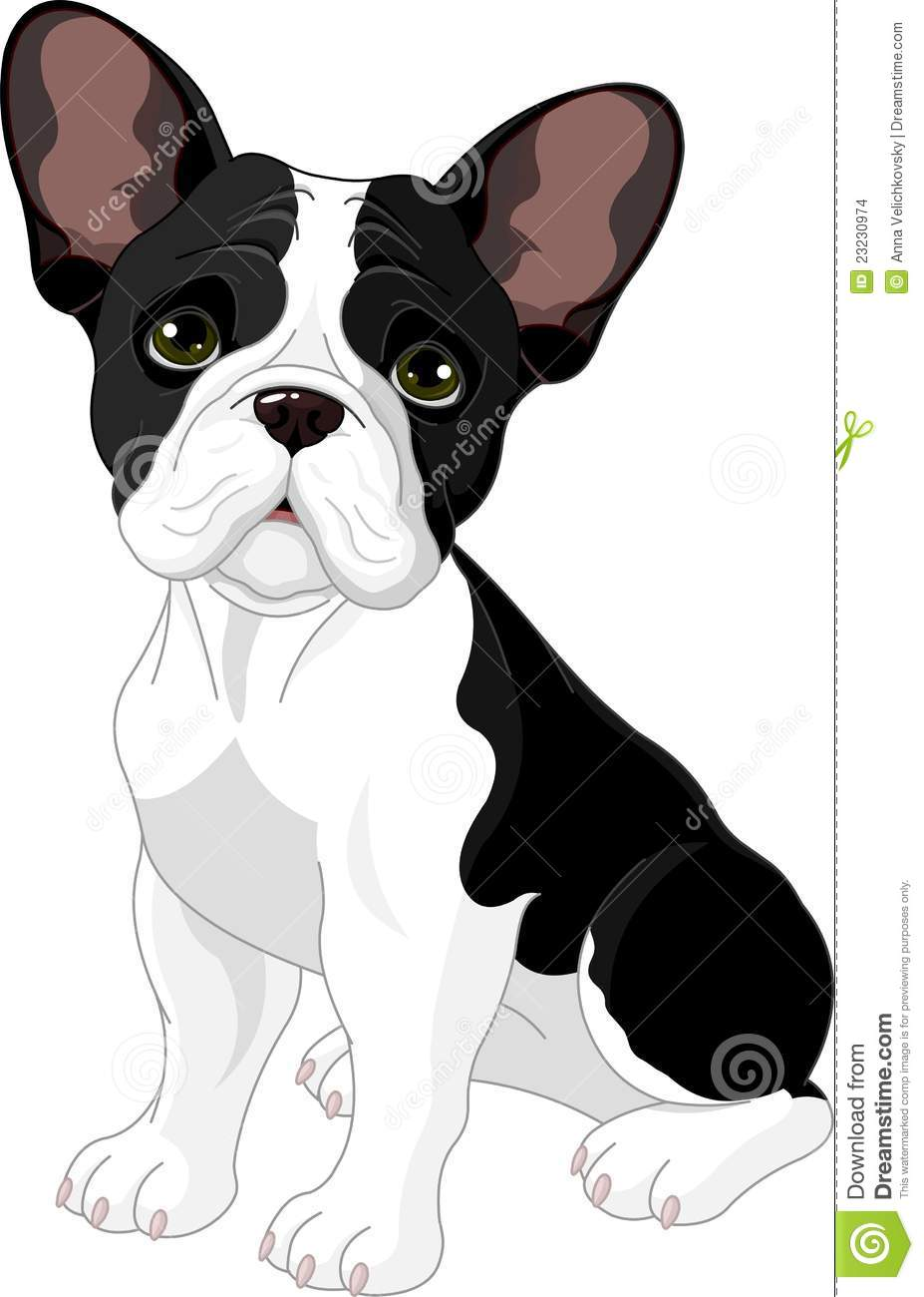 French Bulldog Stock Vector Illustration Of Themes Cartoon 23230974