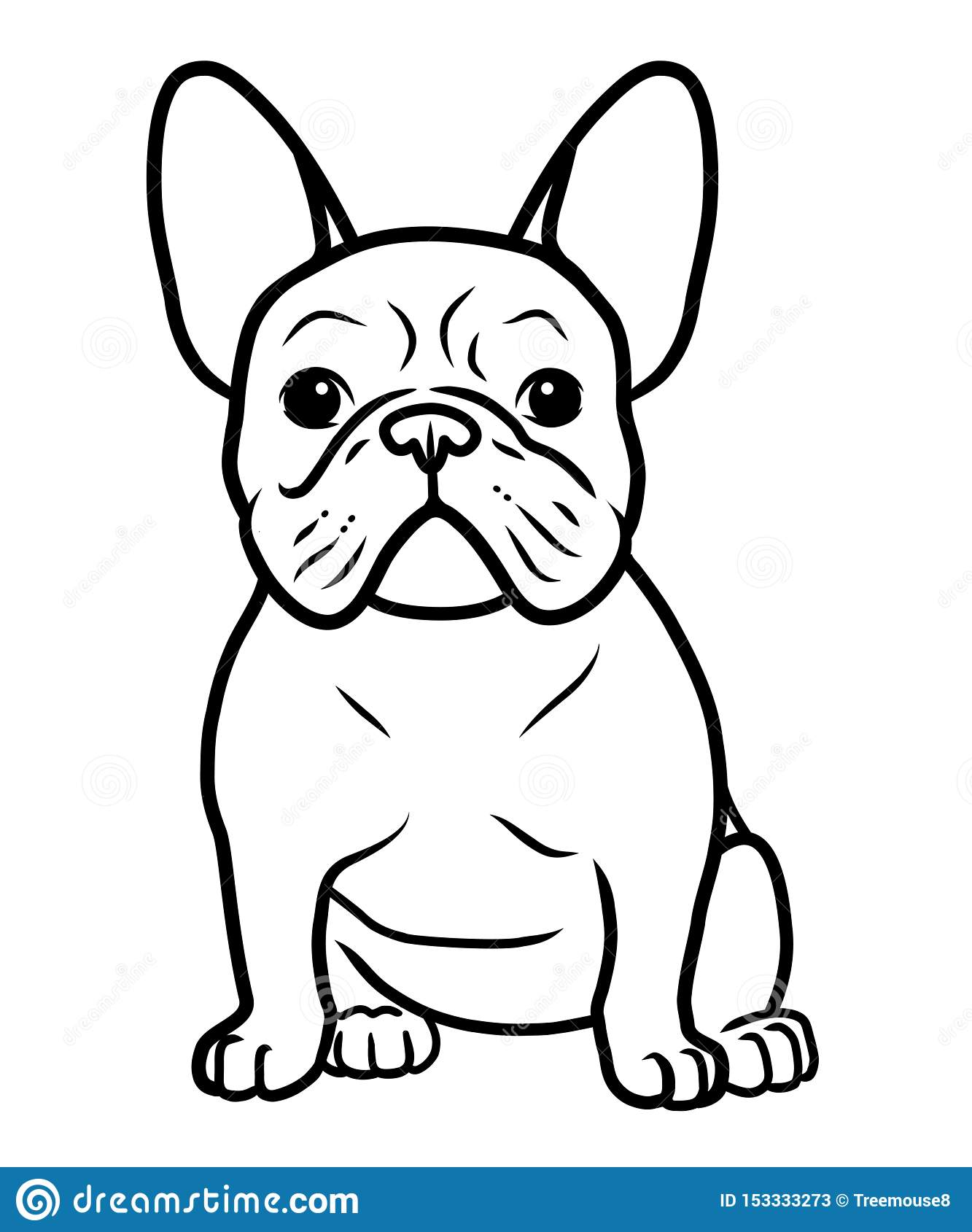 Bulldog Coloring Pages - Best Coloring Pages For Kids | 1689x1333