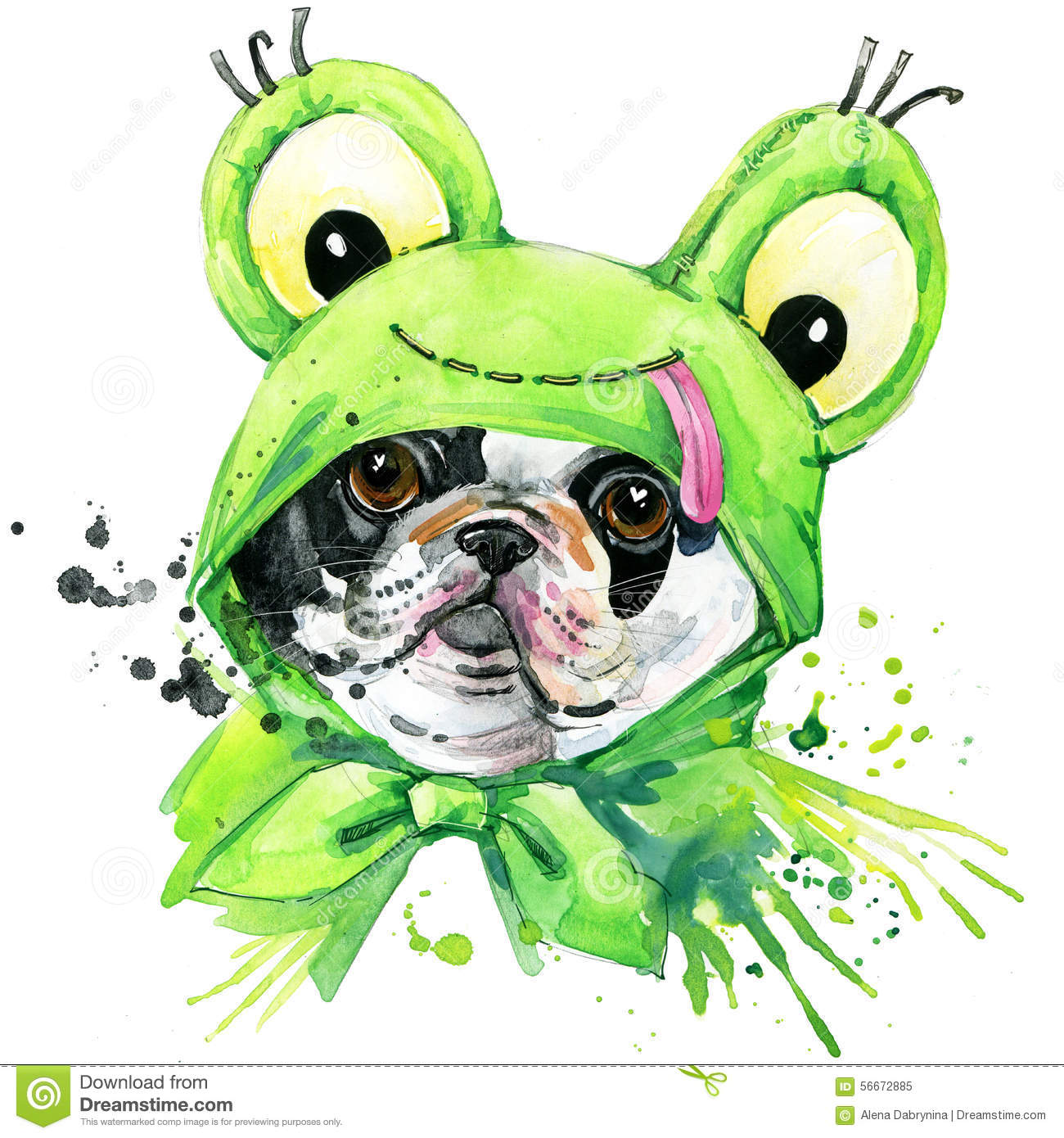 Kunst English Picture Print French Bulldog Dog Dogs Puppy Puppies Horse Art Poster Antiquitaten Kunst Antiquitaten Kunst Kunst
