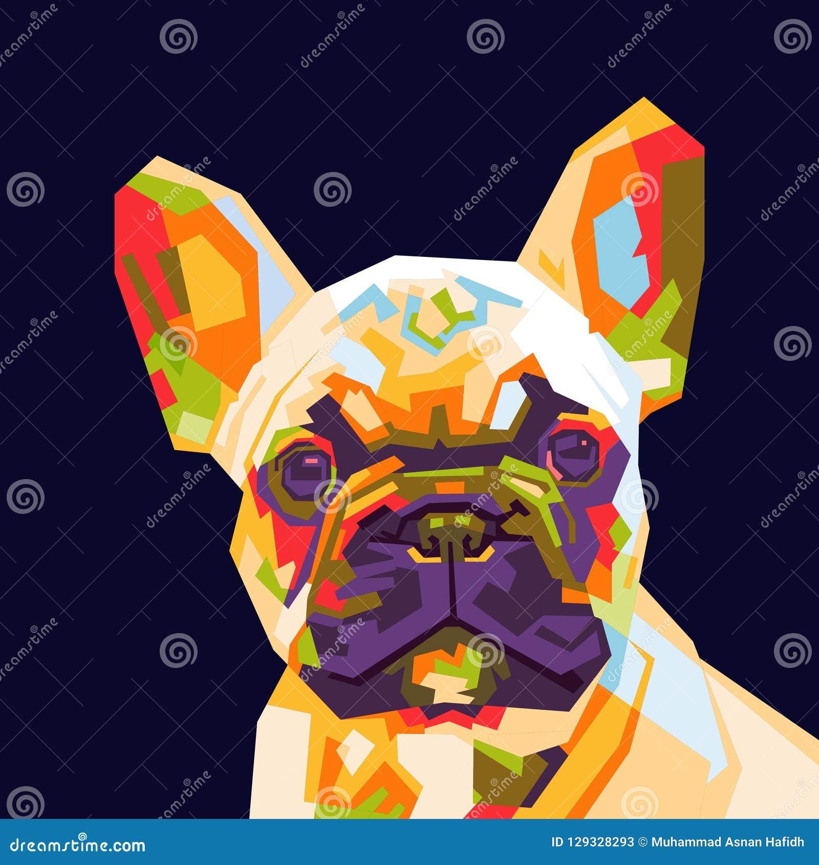 16ea08c3070 French Bulldog Stock Illustrations – 5