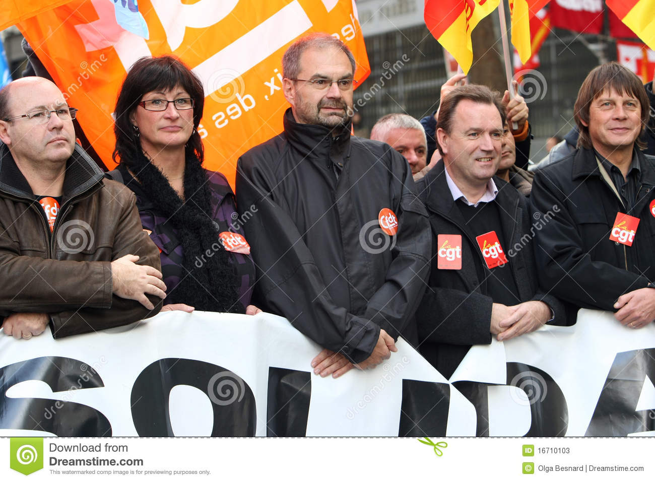 Download French CFDT Trade Union Leader Francois Chereque Editorial Stock Photo - Image of party, union: 16710103