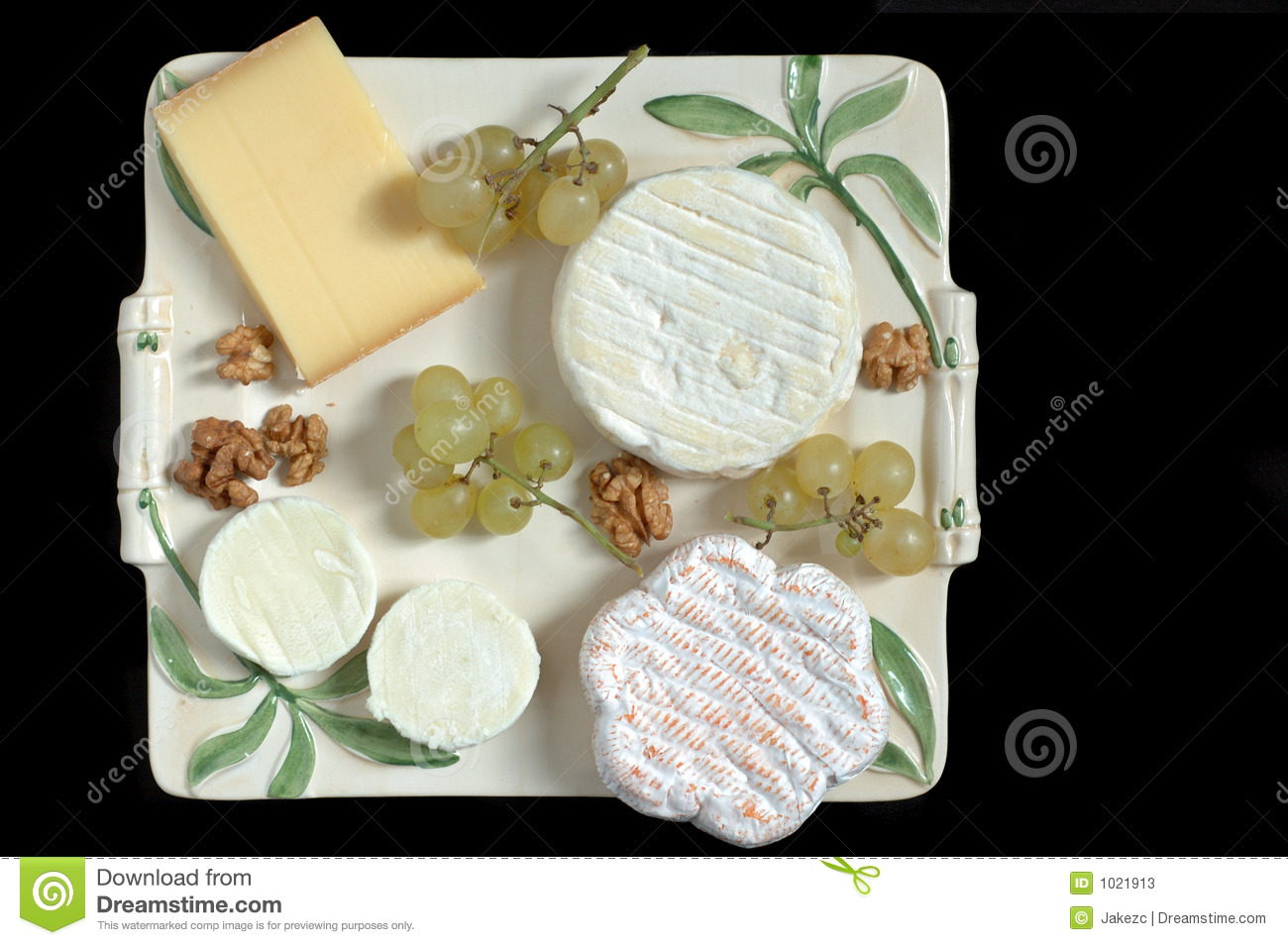 French cheeseboard (overview)
