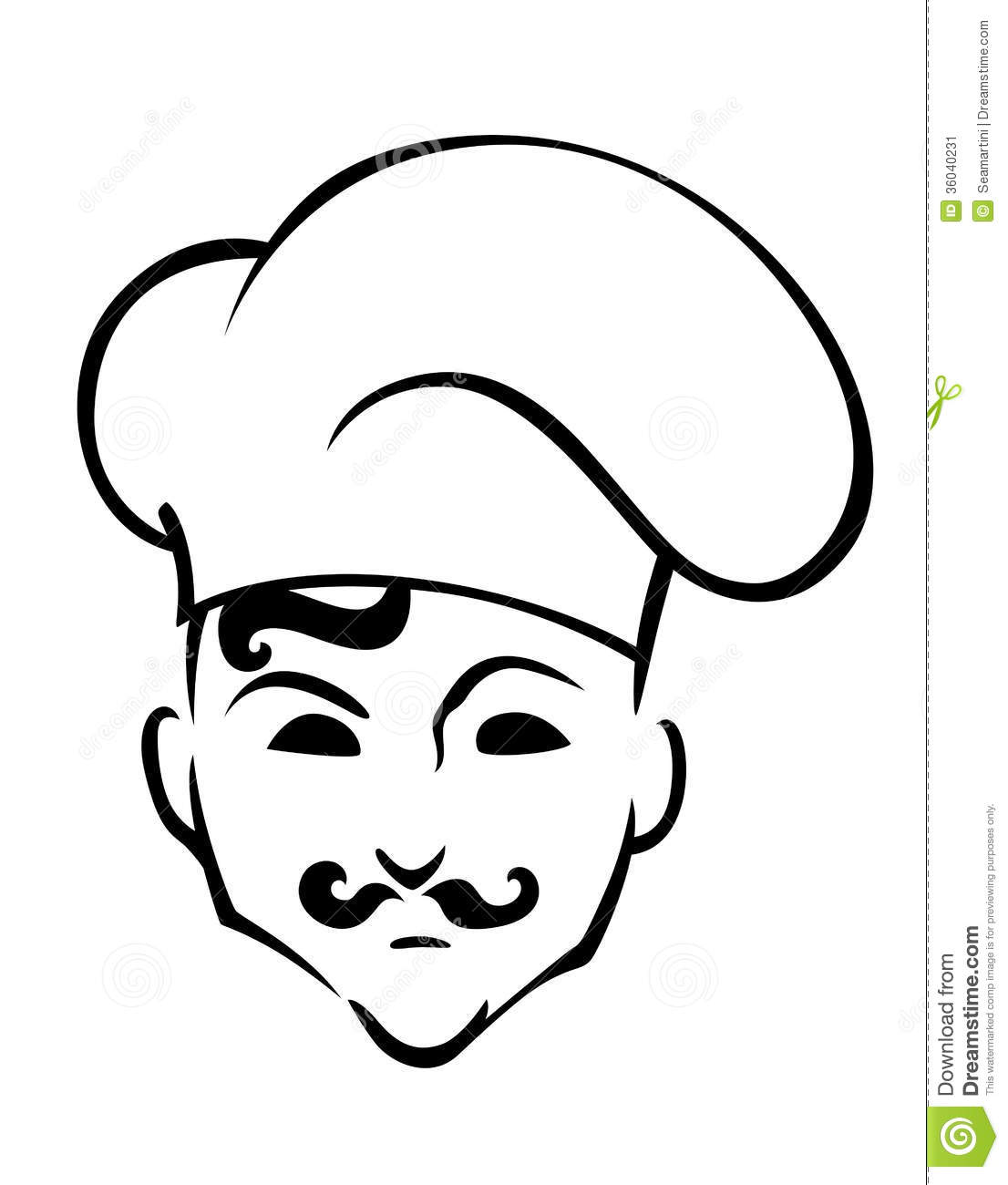 coloring pages of chef hats - photo #34