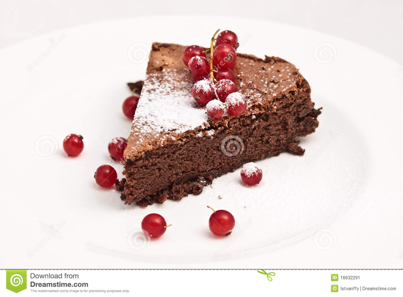 Chocolate Red Currant Cake
