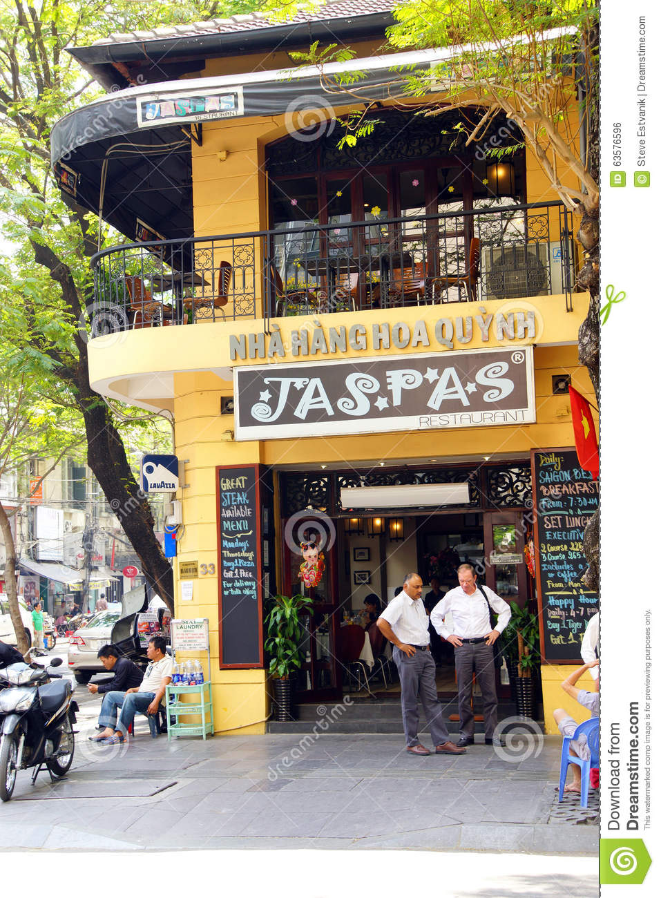 French Colonial Building In Saigon Editorial Photo - Image of