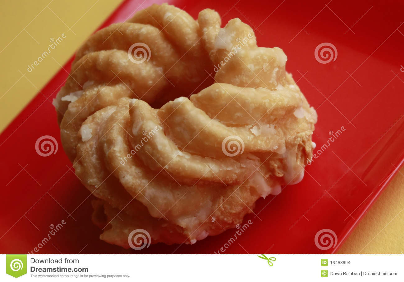 French Cruller Donut Stock Images - Image: 16488994