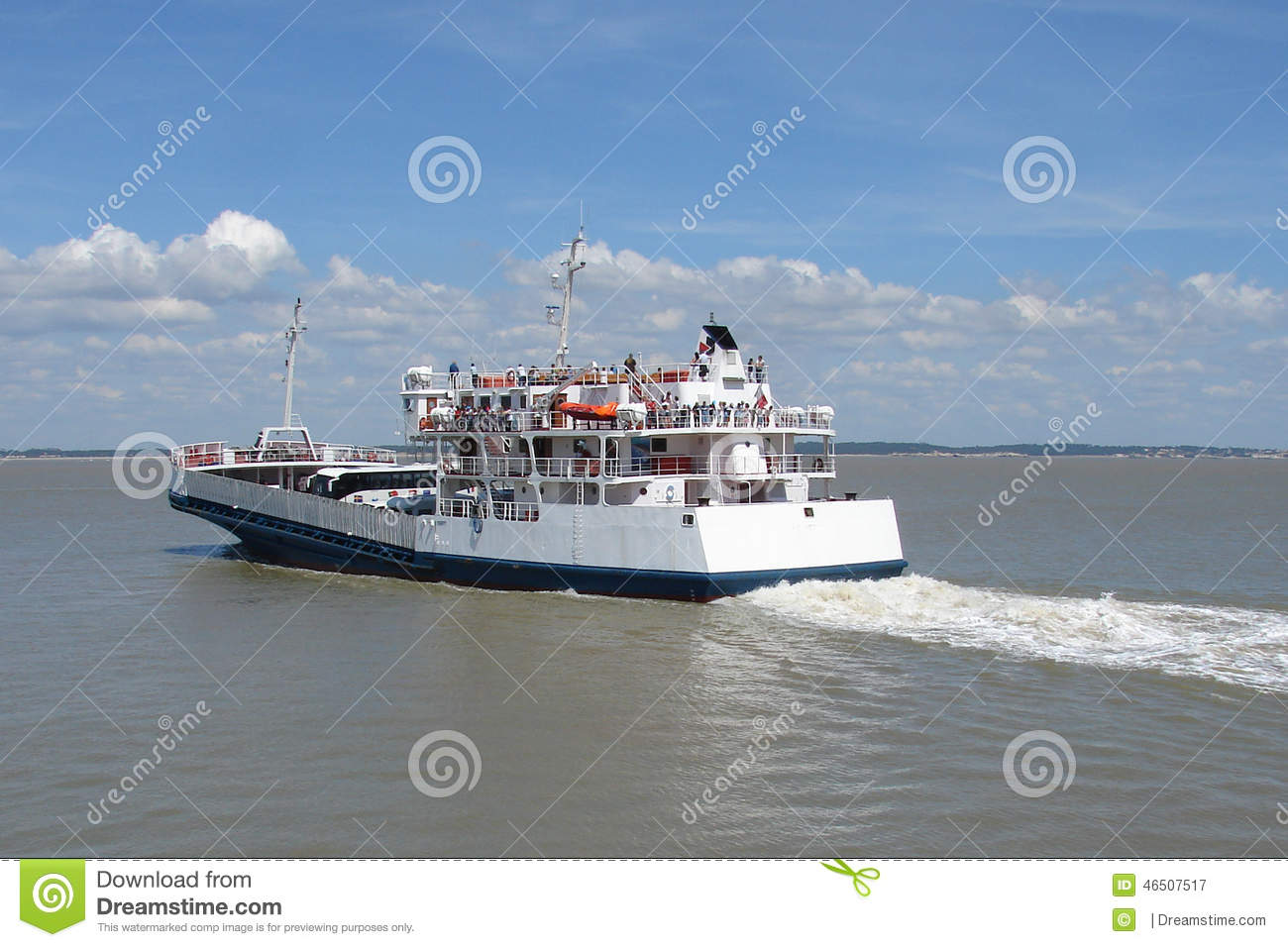 Cruise Ship And Small Boat On A Pier Norway_Travel Stock Photography  Carto