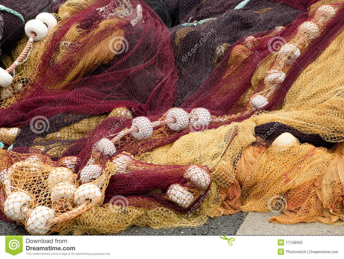 French fishing nets