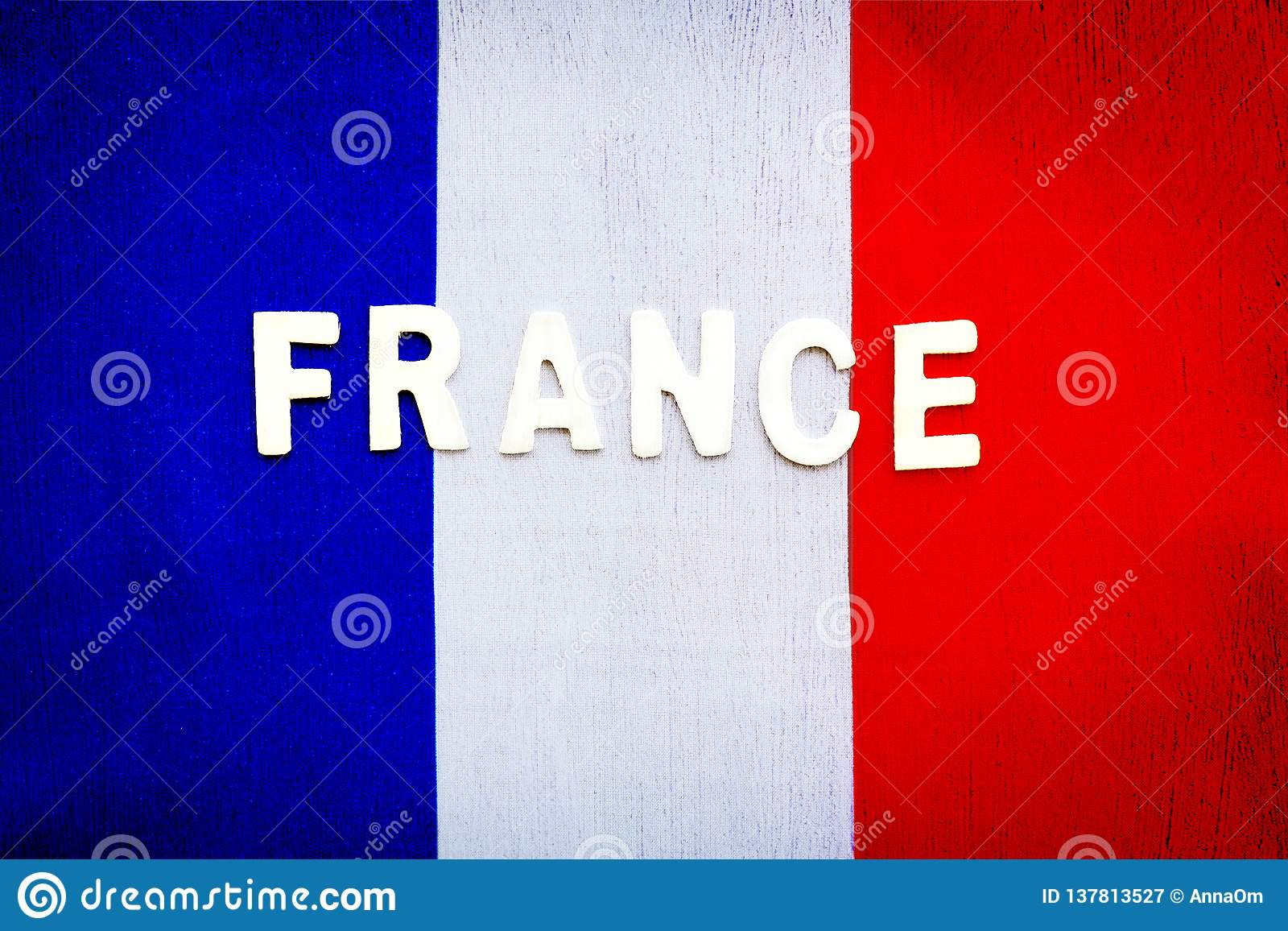 French Flag Stock Image Image Of Backgrounds Football