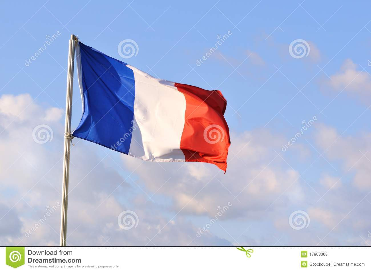French Flag or Tricolore