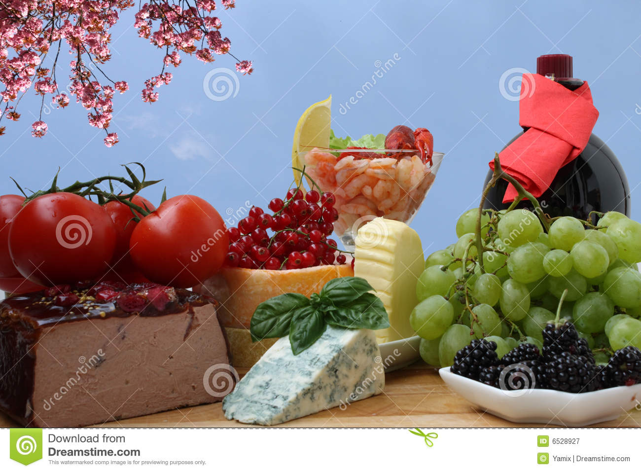 French Food Stock Image Image Of Baloney Deco Currant 6528927