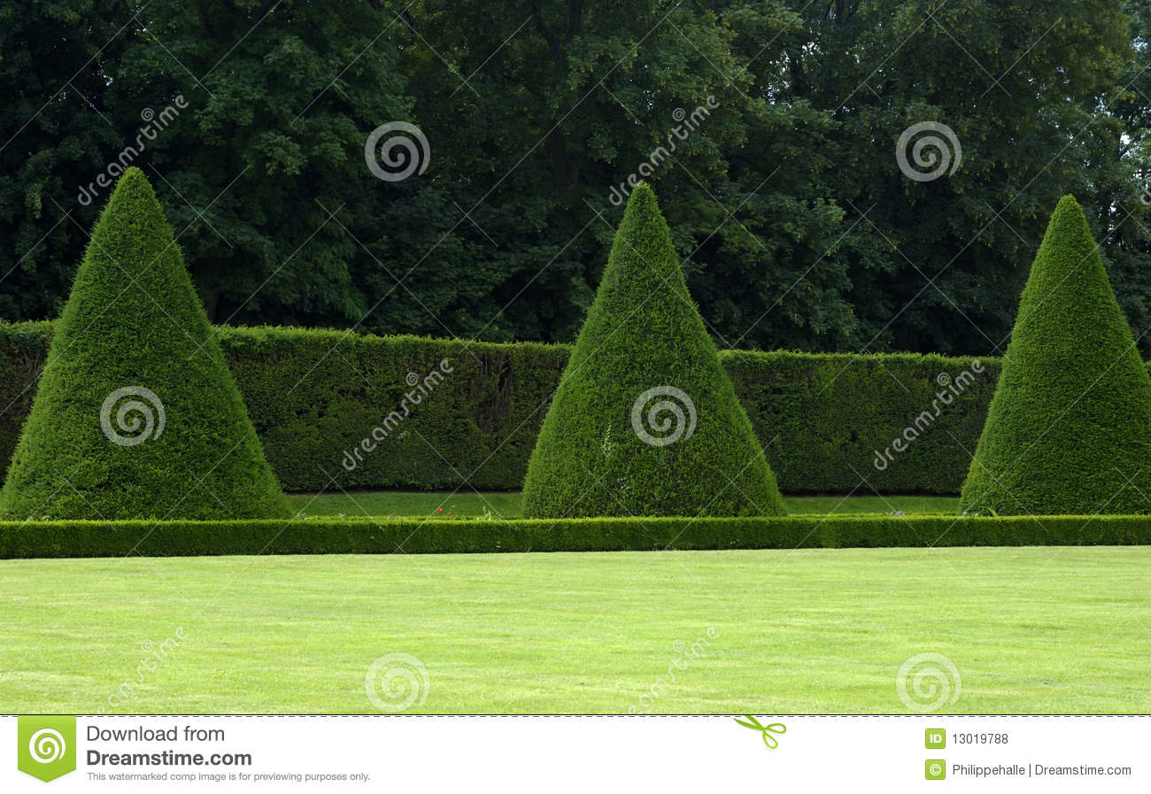 French Formal Garden Royalty Free Stock Photos Image
