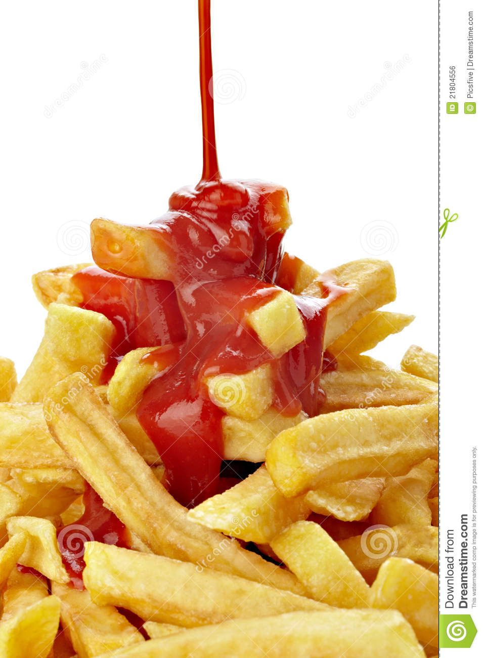 french fries with ketchup - photo #16