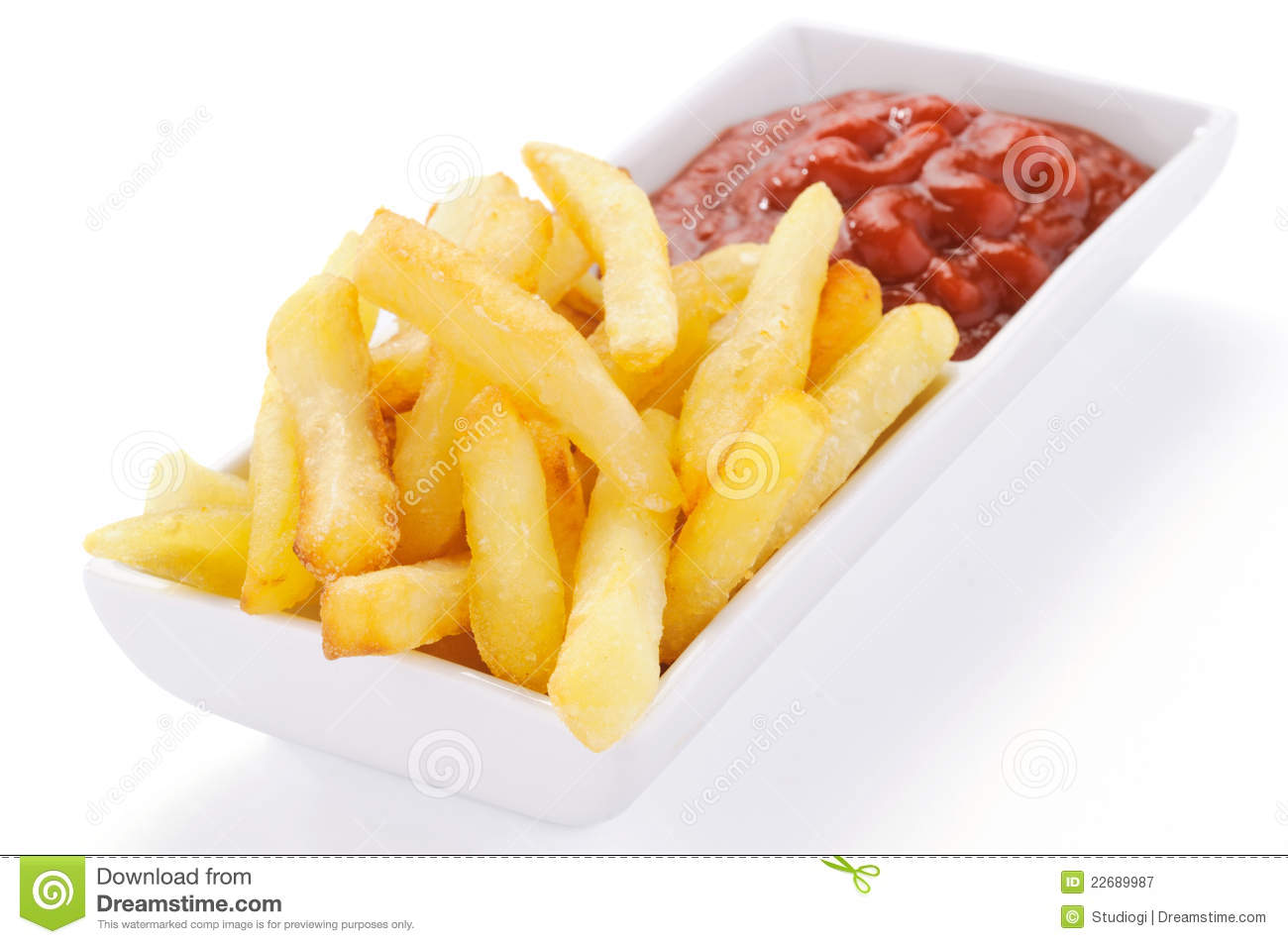 french fries with ketchup - photo #6