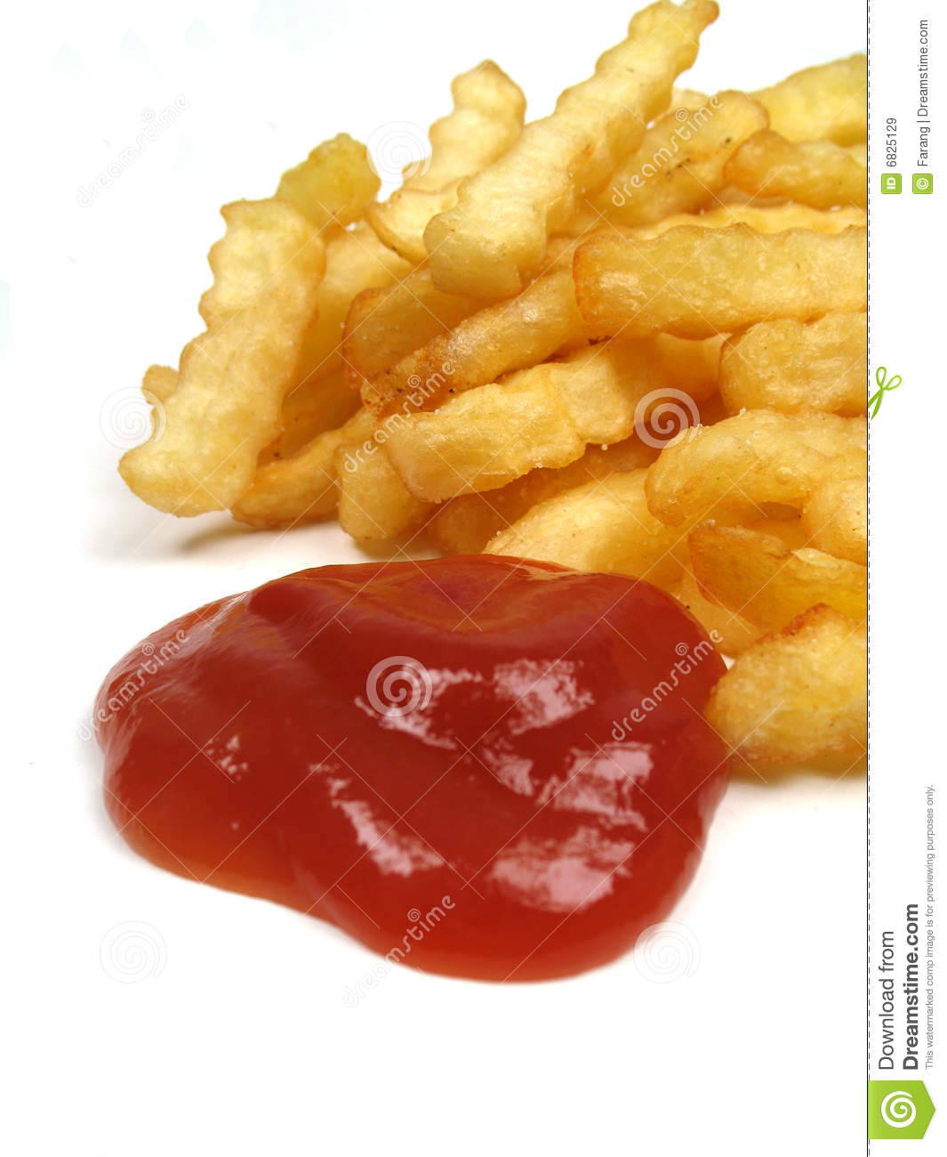 french fries with ketchup - photo #25