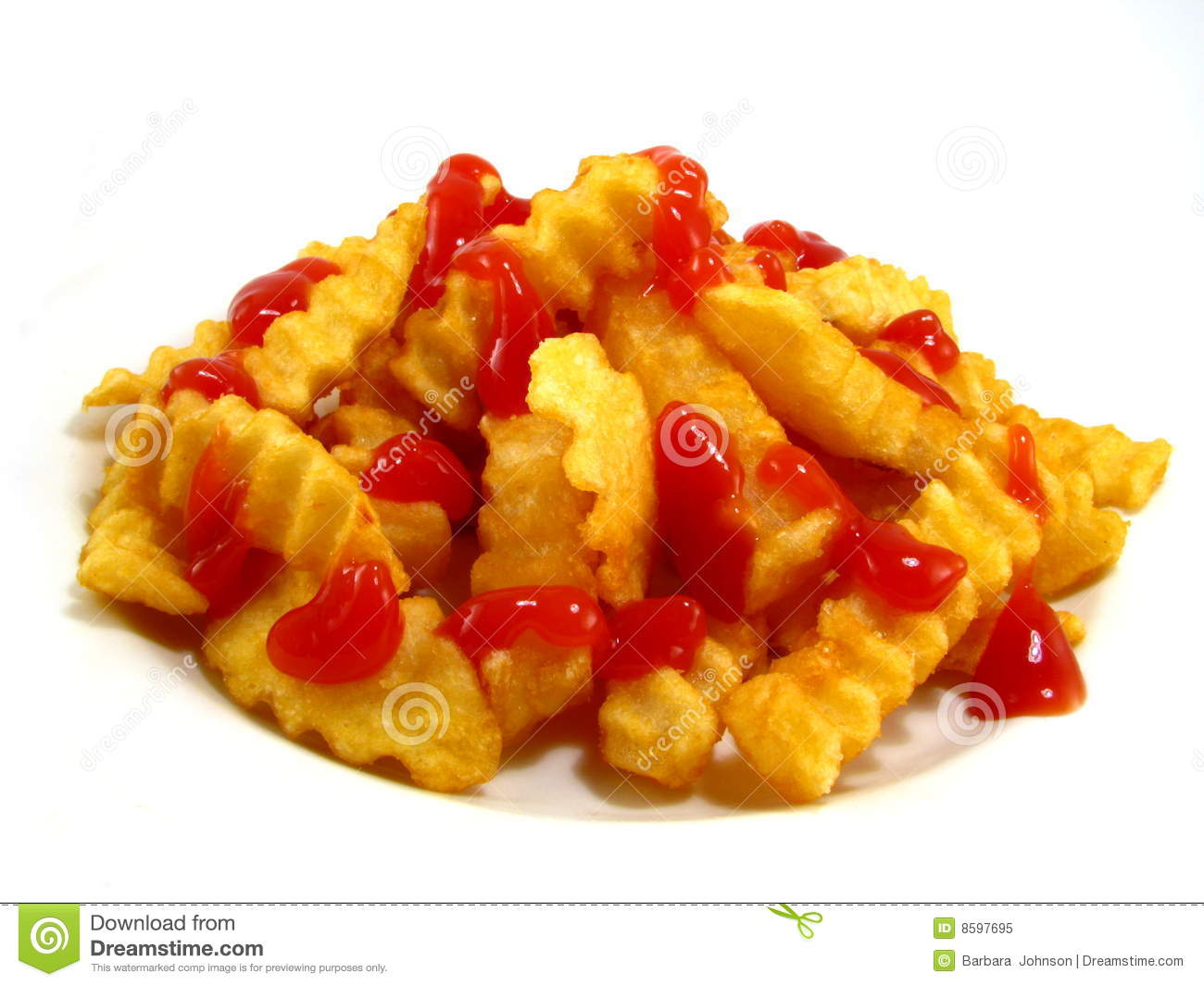 french fries with ketchup - photo #5
