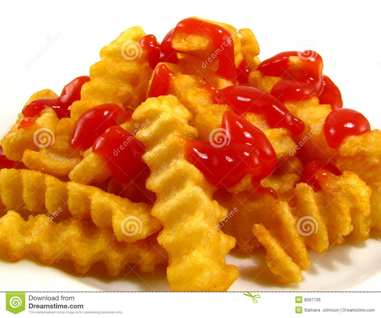 french fries with ketchup - photo #35