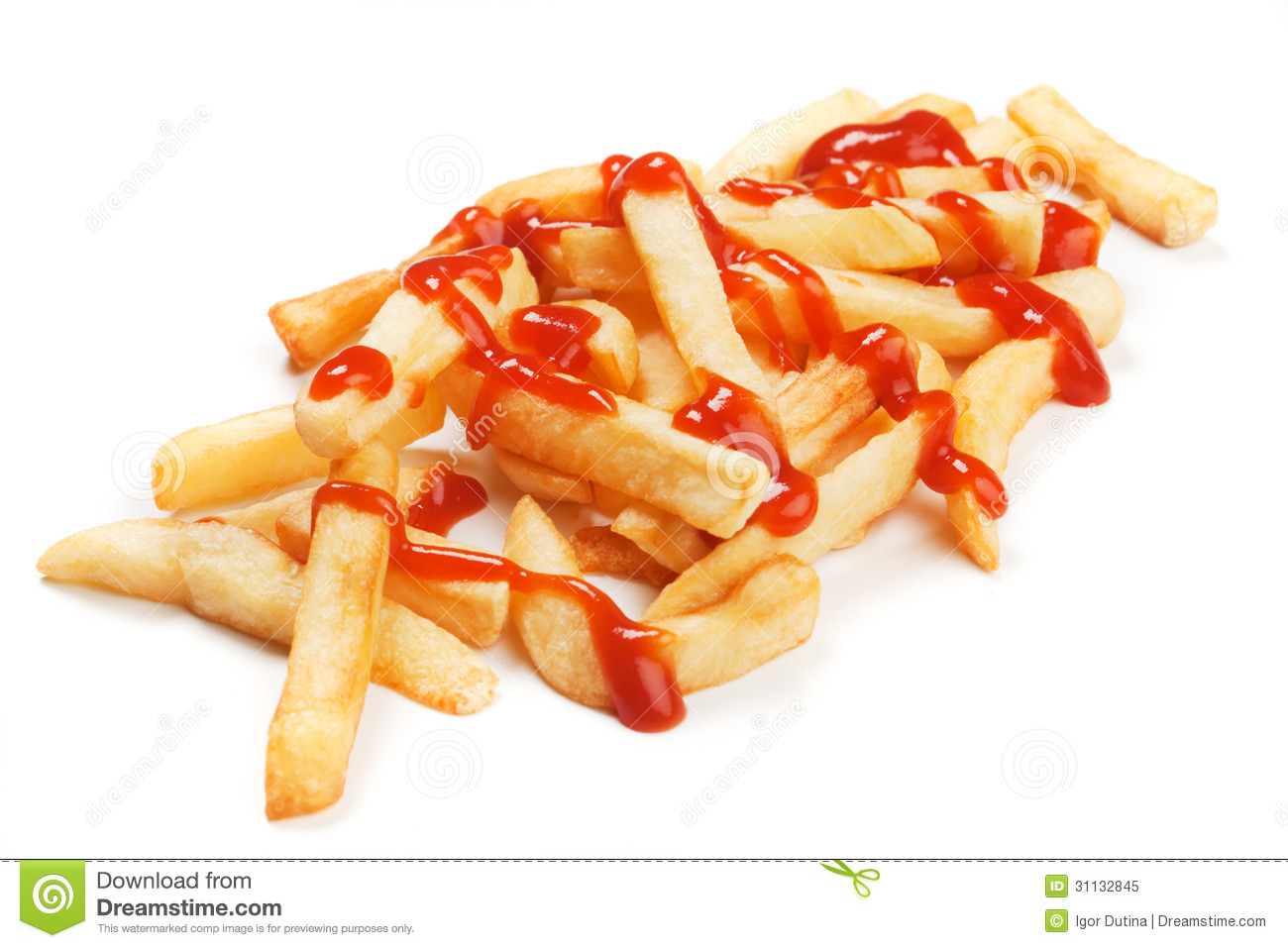 french fries with ketchup - photo #9