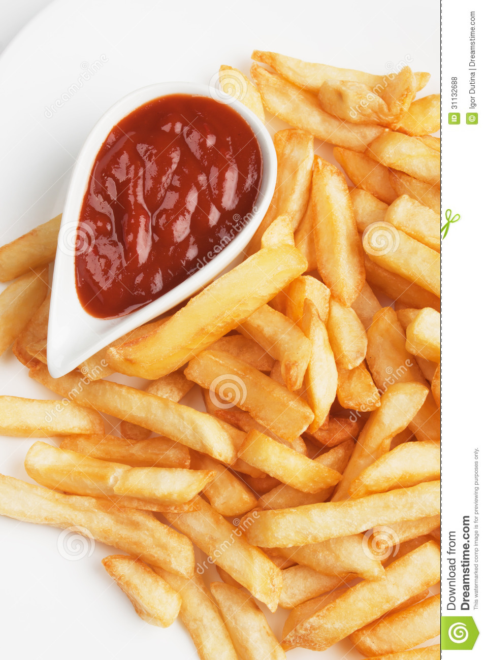 french fries with ketchup - photo #30