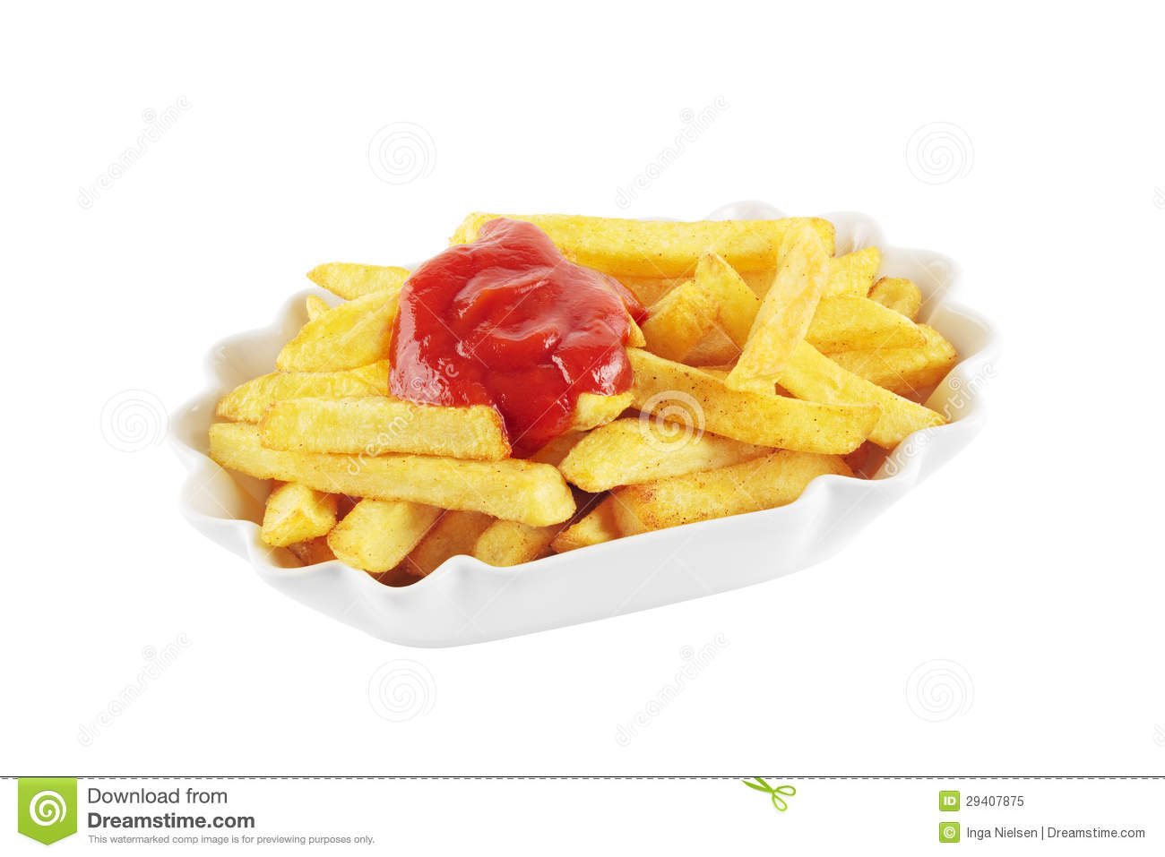 french fries with ketchup - photo #17