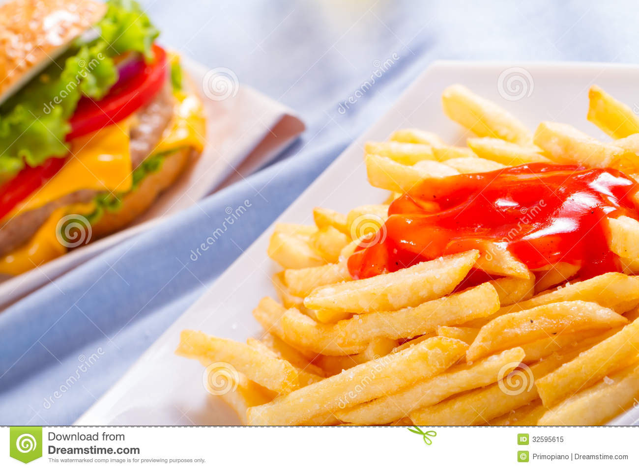 french fries with ketchup - photo #31