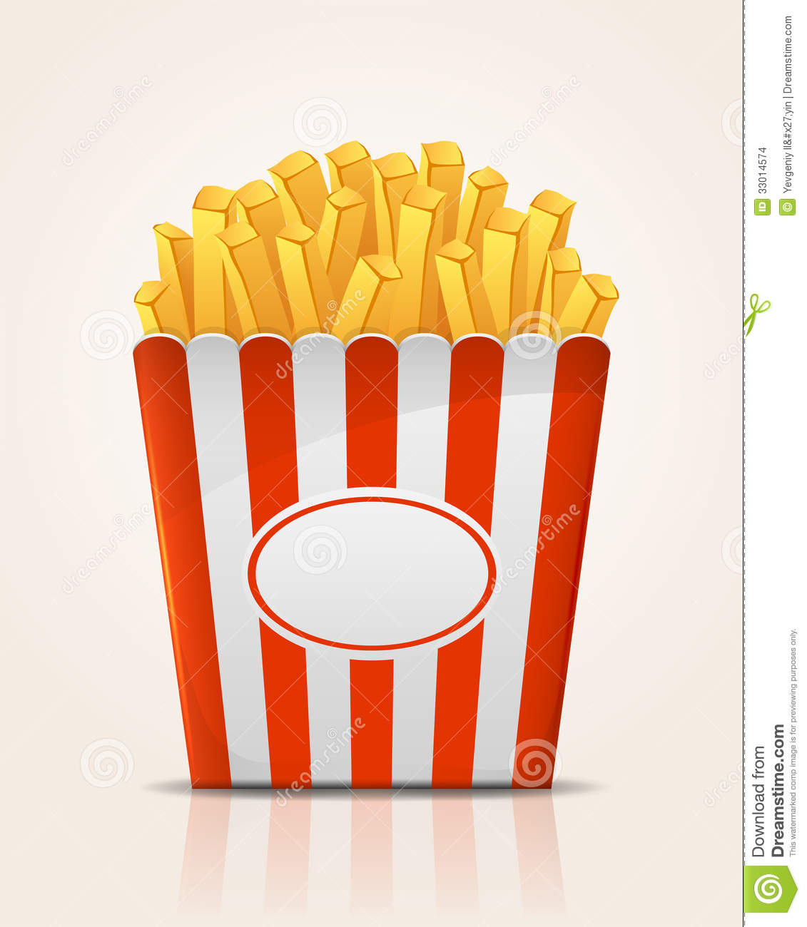French Fries Potato Stock Images - Image: 33014574
