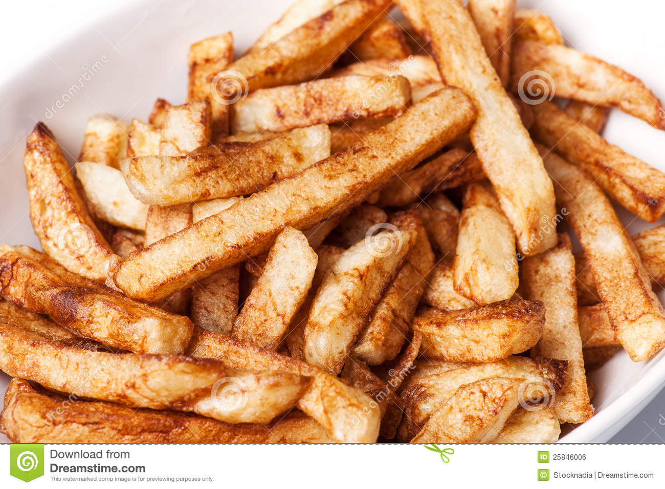 how to make french fries from potatoes