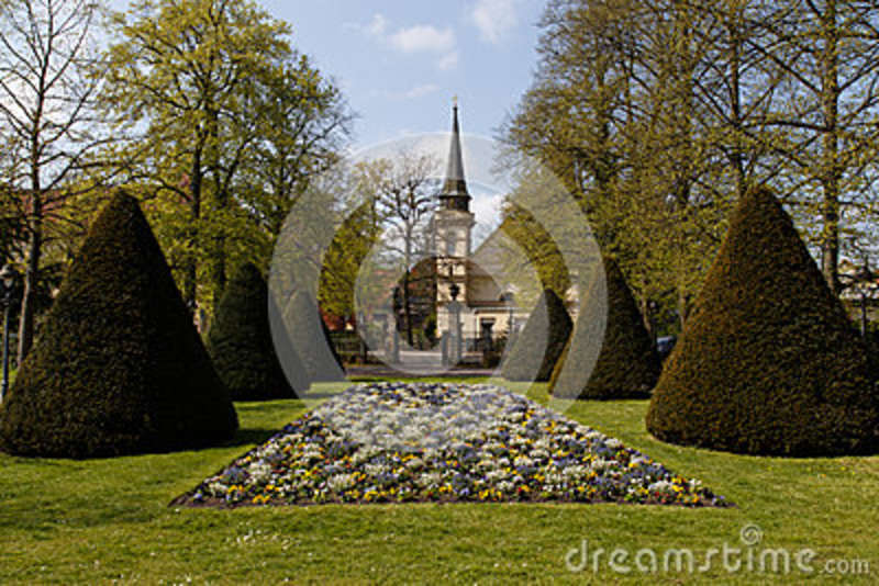 French Garden Celle Stock Photo Image Of Symmetric Equal 40808462