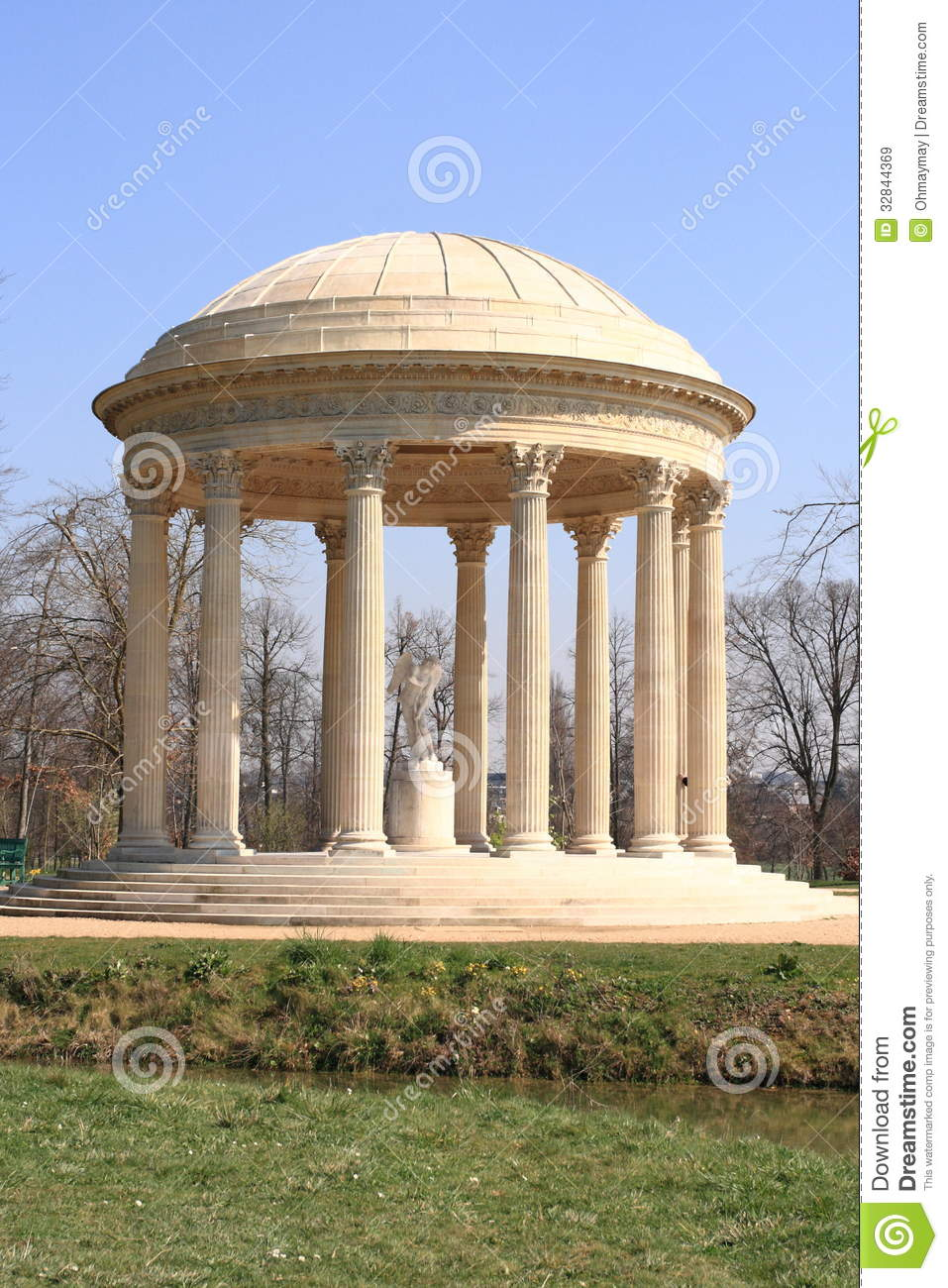 French Garden Pavilion Royalty Free Stock Images Image 32844369