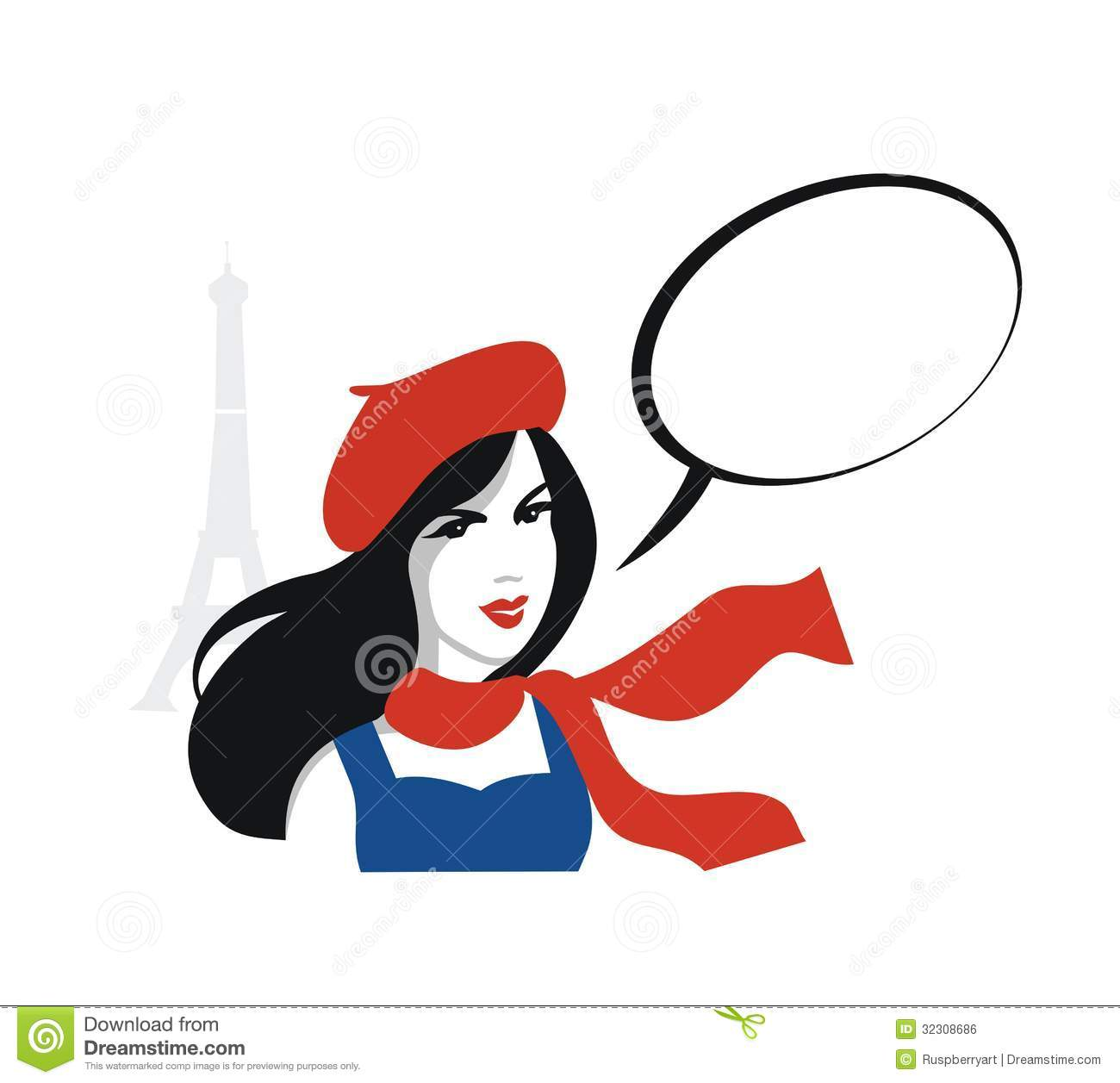 French woman clipart the image kid has it for Illustration minimaliste