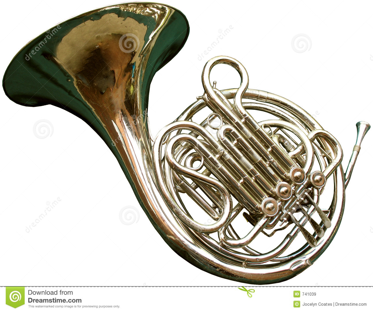 French Horn Royalty Free Stock Images - Image: 741039