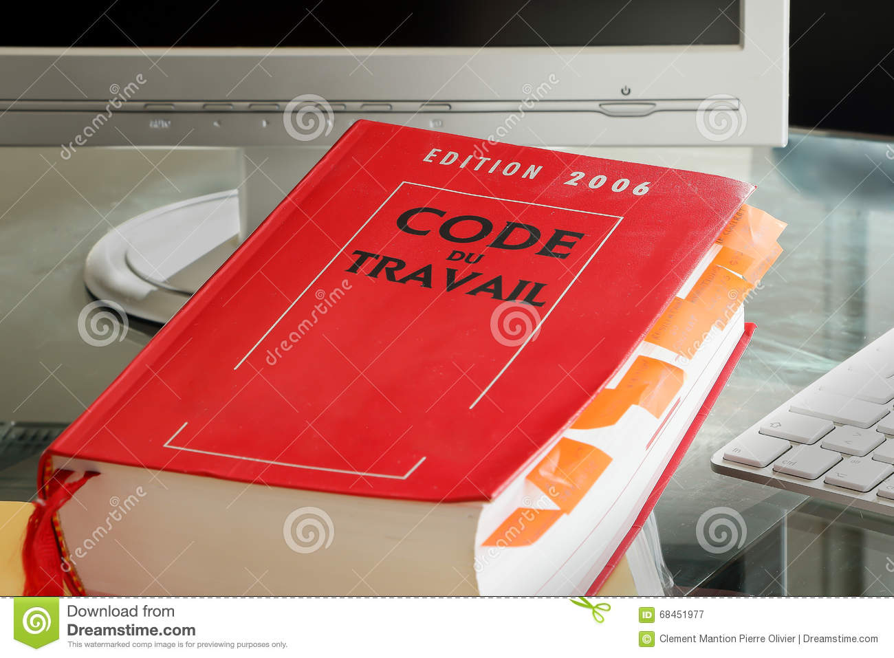 French labor code book