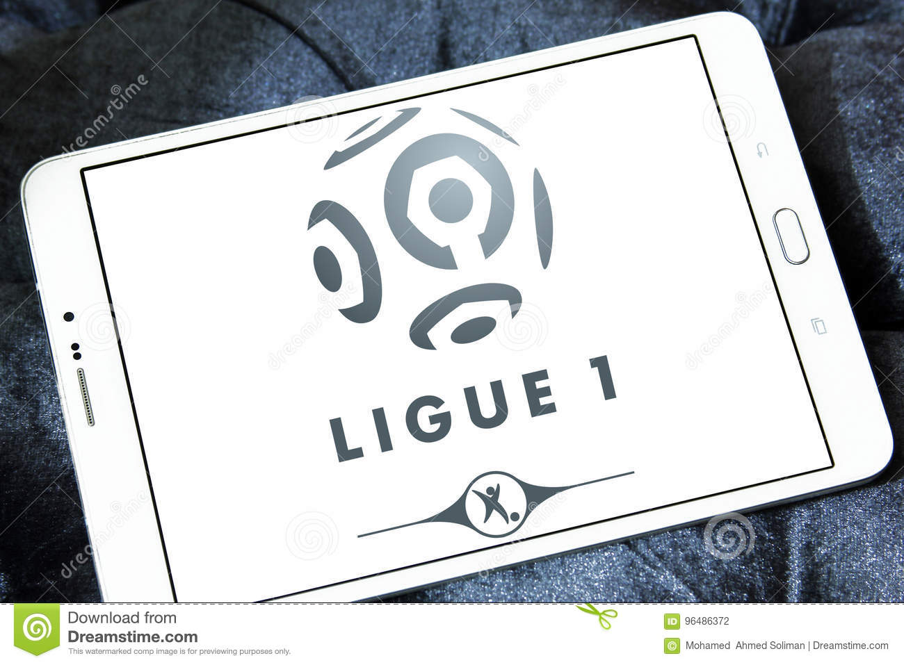 French Ligue 1 Logo Editorial Photography Image Of Association 96486372