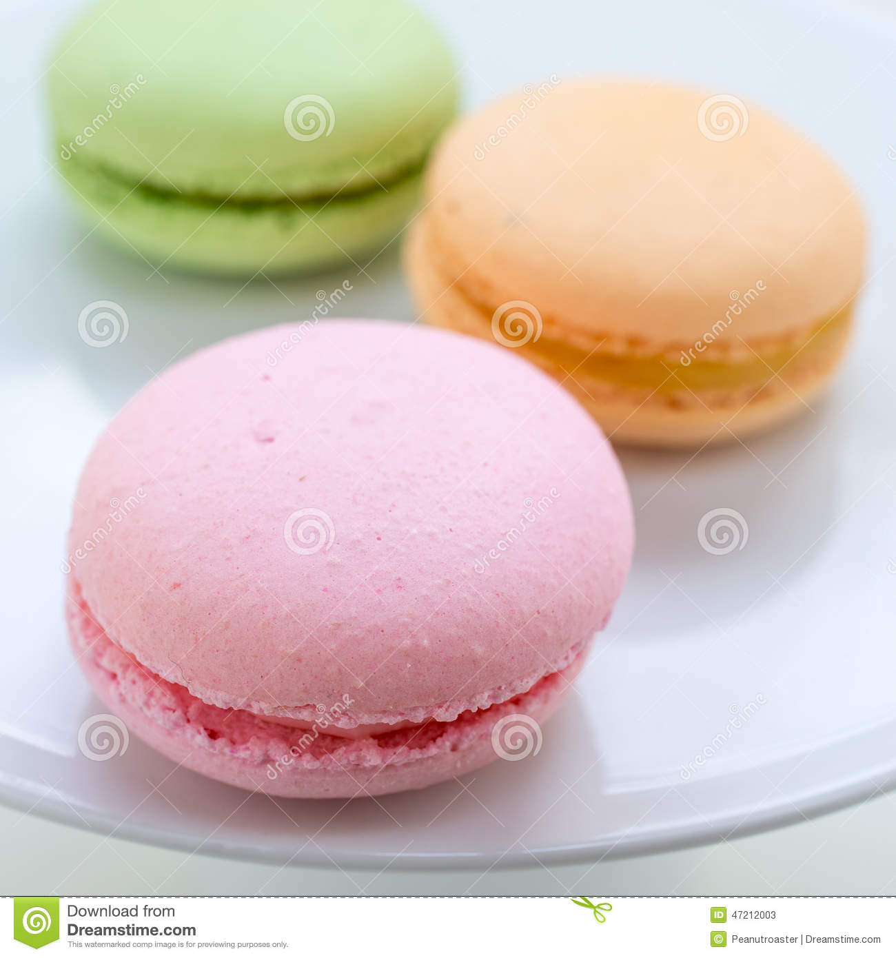French Macaron Cookies Stock Photo - Image: 47212003