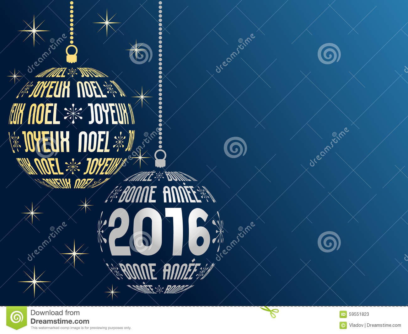 french merry christmas and happy new year 2016 background. Black Bedroom Furniture Sets. Home Design Ideas