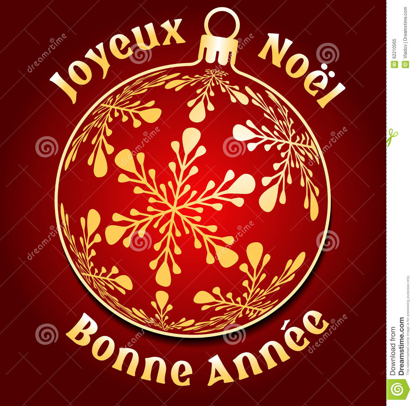 French merry christmas and new year background stock vector french merry christmas and new year background m4hsunfo