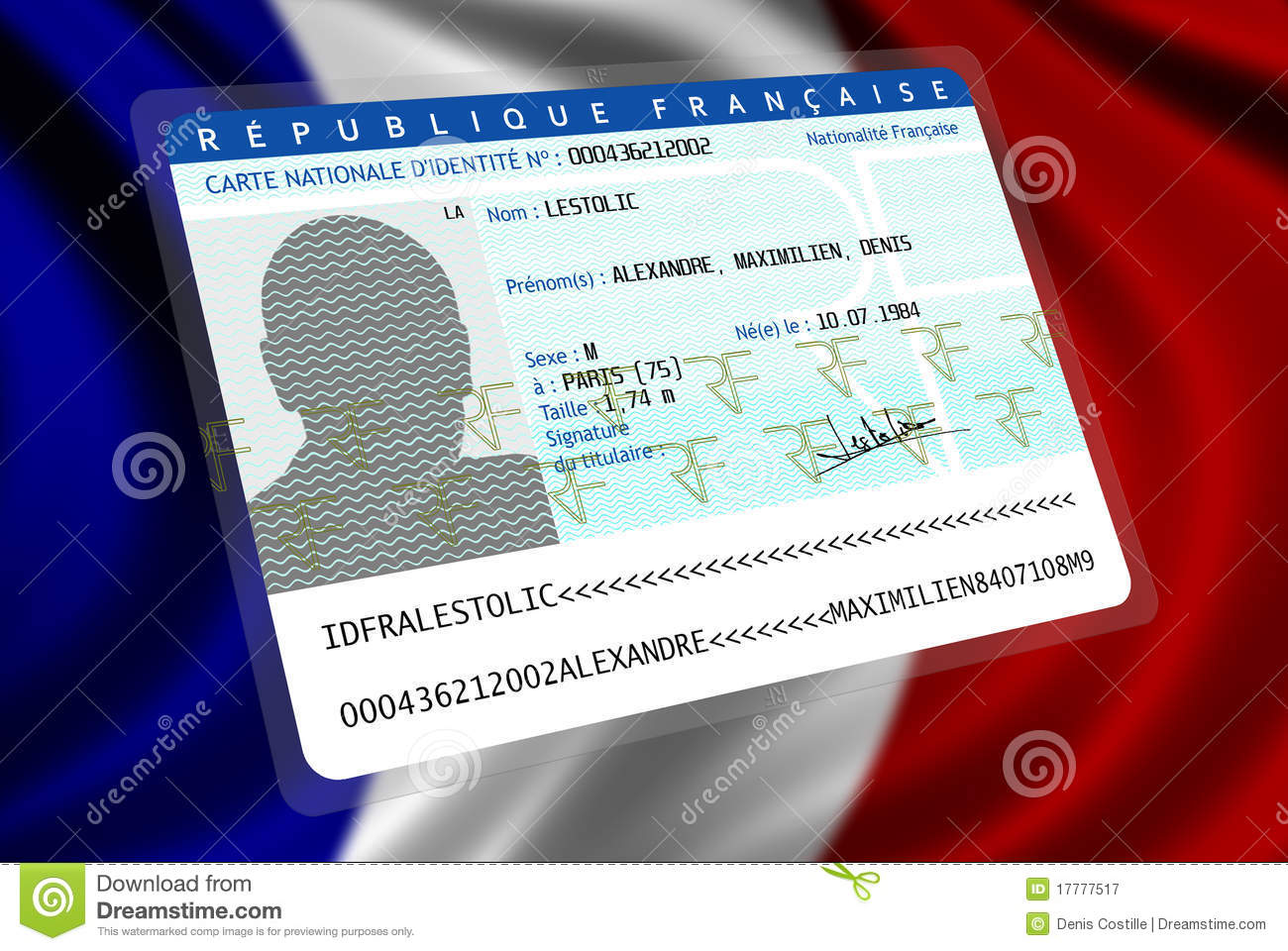 French Nationality (male 2)