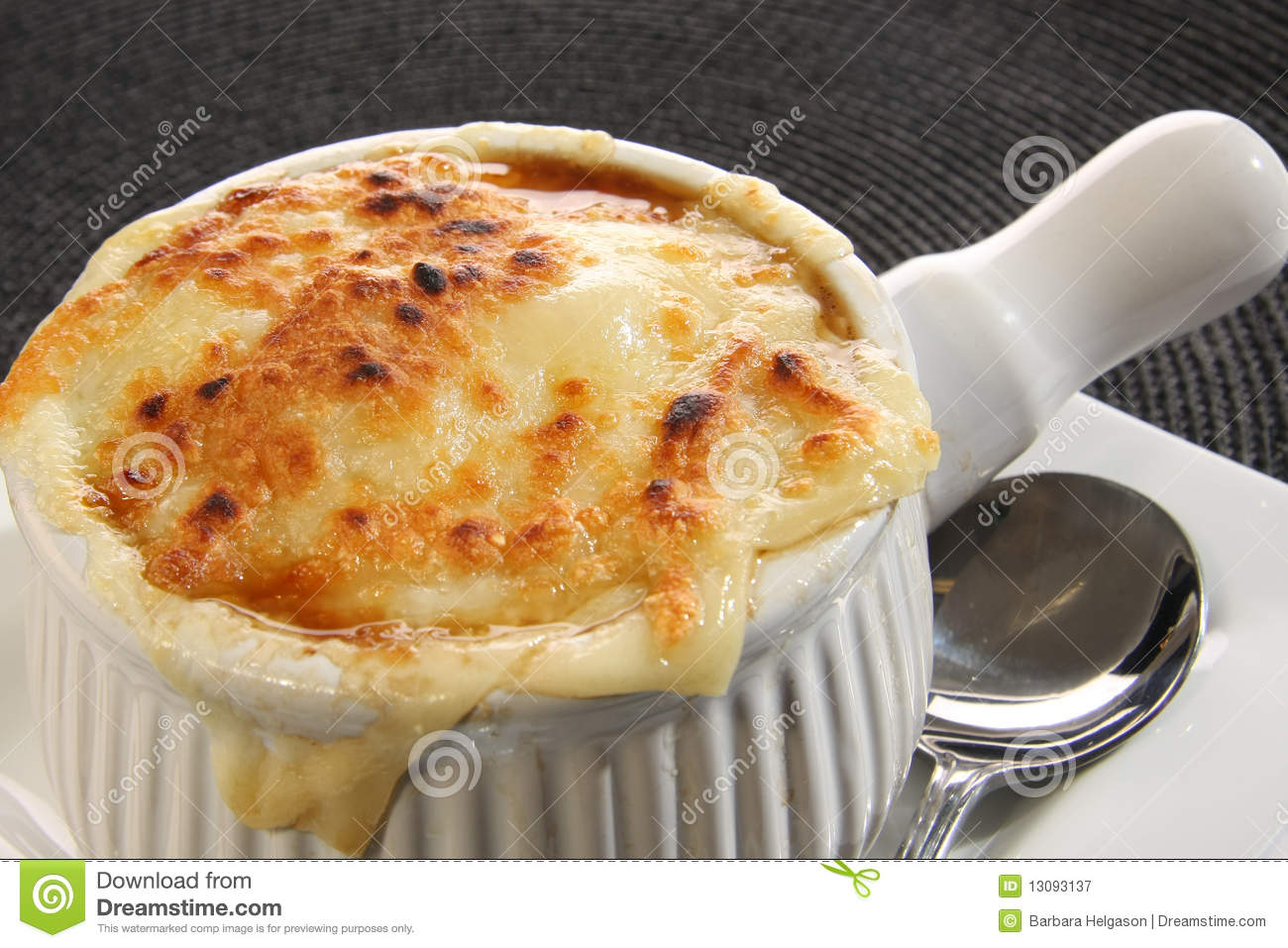 French onion soup stock image. Image of cheddar, swiss ...