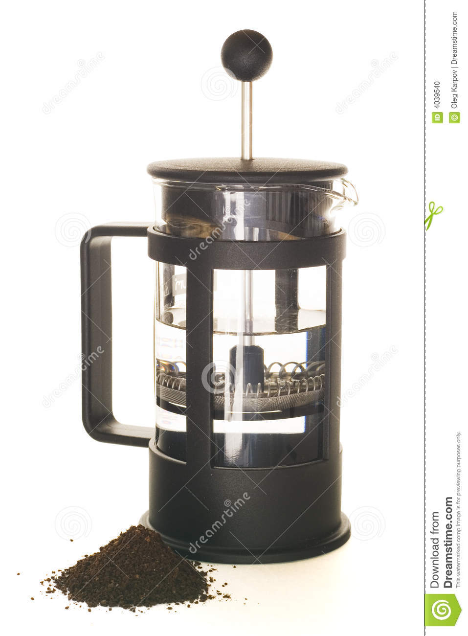 how to make french press coffee with grounds