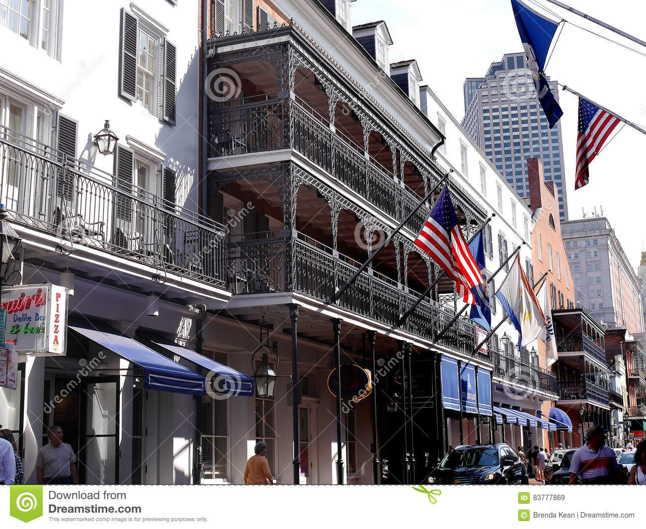 The French Quarter New Orleans A Louisiana City On The Mississippi