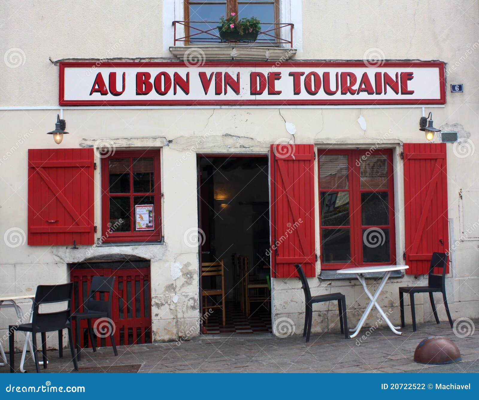French restaurant at azay le rideau editorial photography - Restaurant les grottes azay le rideau 37 ...