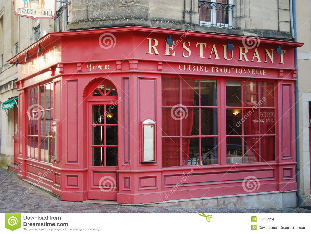 French Restaurant Stock Images - Image: 35625324