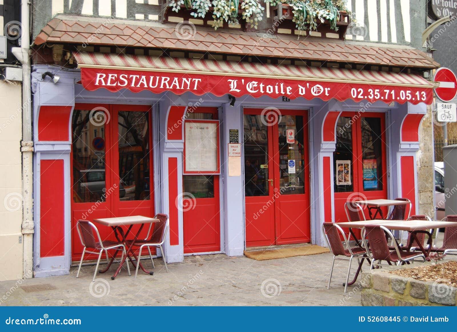 Restaurant Strasbourg Street