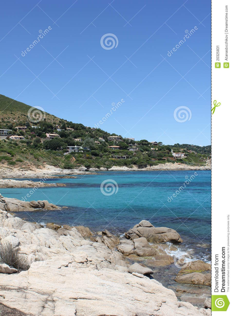 Download The French Riviera stock image. Image of famous, principality - 20325831