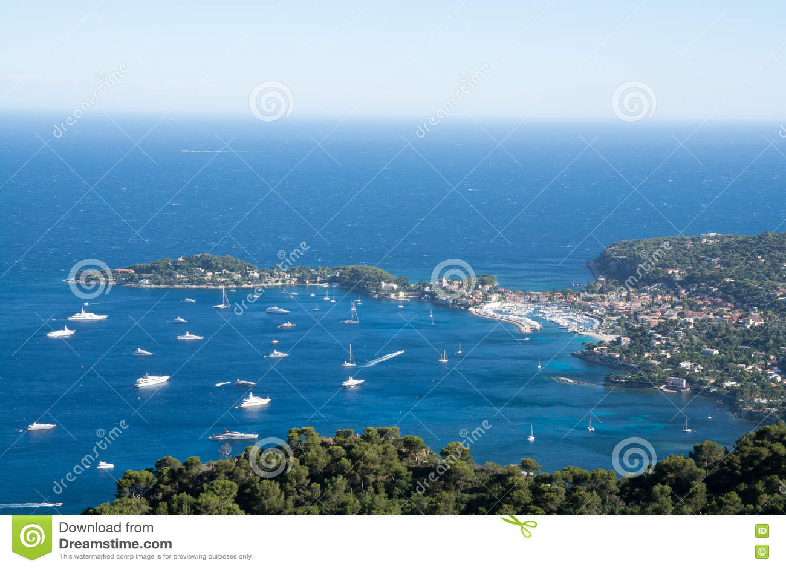 French Riviera coast